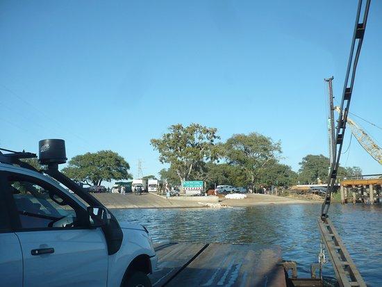 Kazungula, Zambia: Ferry