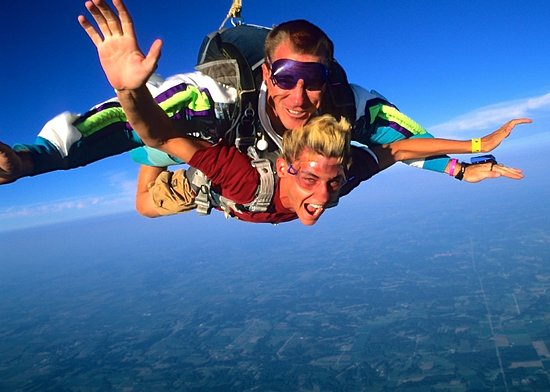 Skydive Pura Vida