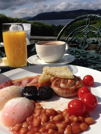 The Samling Hotel: breakfast with a view