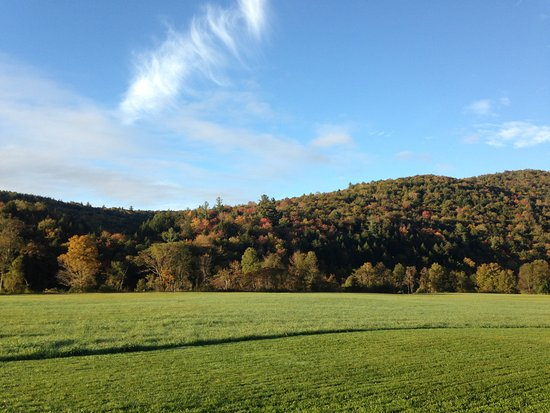 Stockbridge, Вермонт: incredible views in all seasons