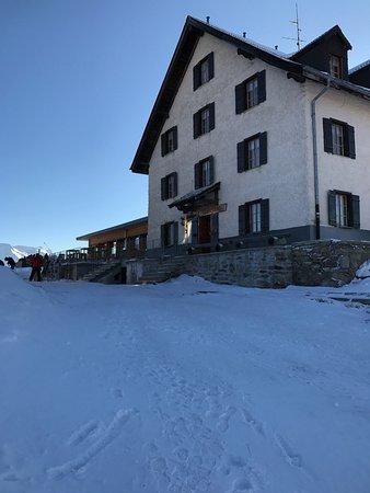 Riederalp, Suisse : Der Anblick wenn man zu Fuss von der Moosfluh kommt