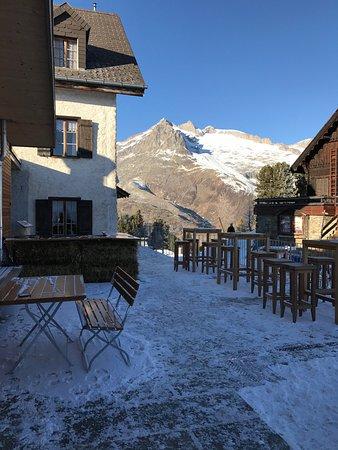 Riederalp, Suisse : Schöne Terrasse