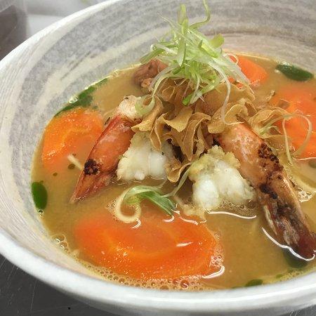 East Hampton, Estado de Nueva York: Shrimp Ramen
