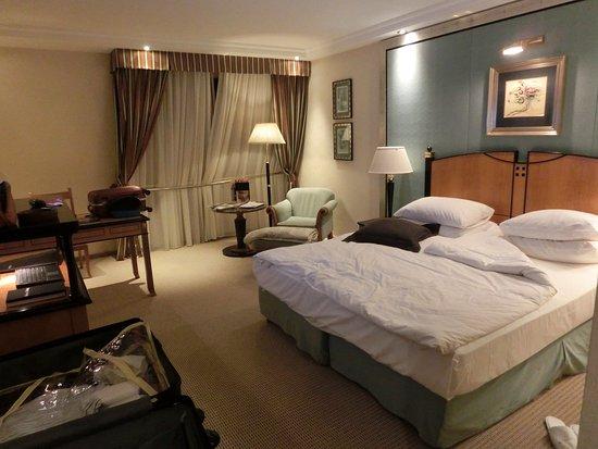 Kempinski Hotel Corvinus Budapest: The room is nice