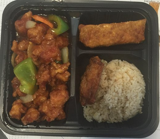 East Ellijay, GA: General Tao Chicken Lunch
