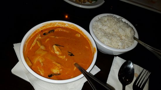 Cha Baa Thai Restaurant: Curry with Rice