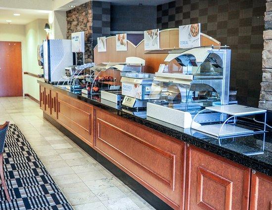 Blacksburg, VA: Free Breakfast!