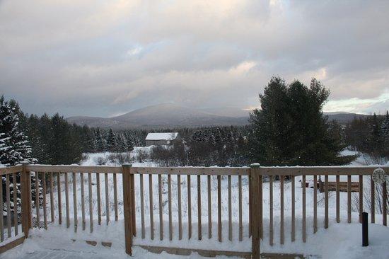 La Patrie, Canada: Terrasse hiver 2017