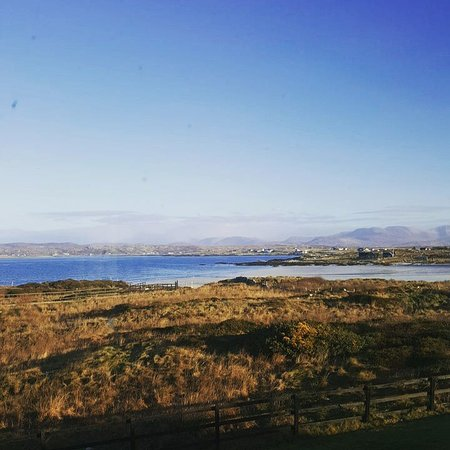 Ballyconneely, Irlanda: View from Room 207