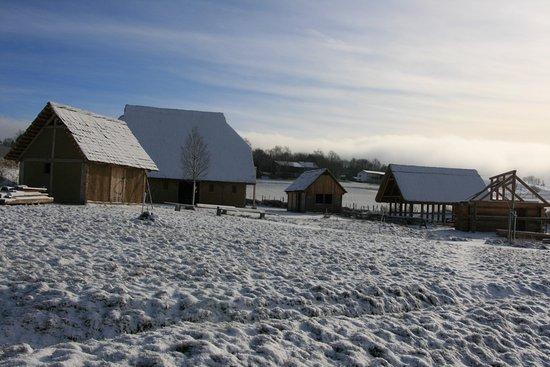 Barnau, Alemania: ein hochmittelalterliches Dorf ist entstanden