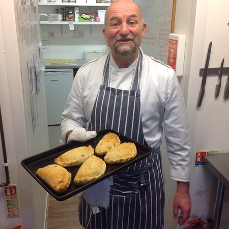 Torpoint, UK: Daves famous pasties