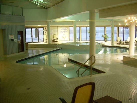 Horseshoe Resort: Two level pool