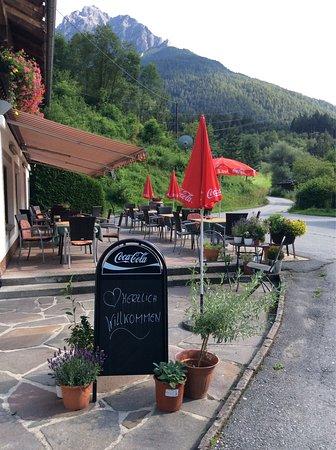 Mieders, Austria: Restaurant Kirchbrucke