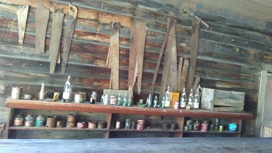 Missoula, MT: Old bottles, cans, and saws