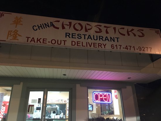 China Chopstick Co Quincy Menu