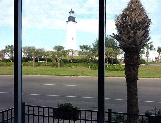 Port Isabel, TX: View of the historic lighthouse