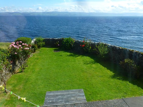 Backyard of Montford Cottage, Isle of Bute