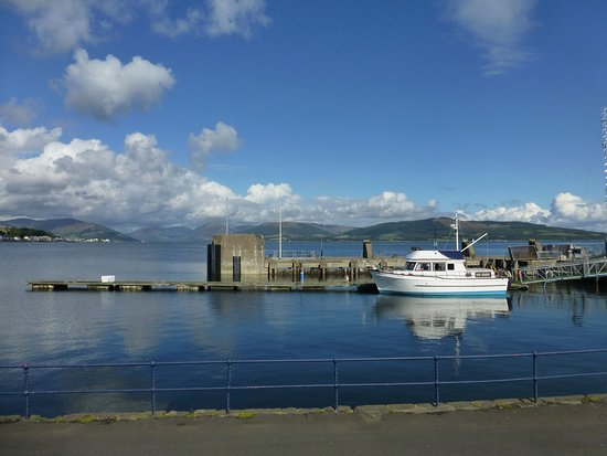 Isle of Bute, UK: Rothesay Harbor