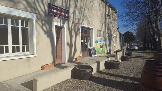 Trausse, France: La Table des vignerons
