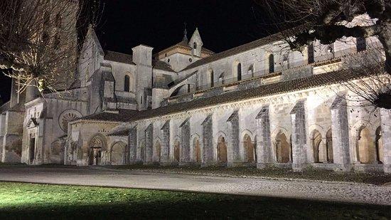 Monasterio de las Huelgas: Las huelgas de noche.