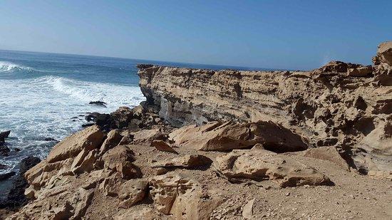 la baie de La Pared - Picture of Playa del Viejo Rey, La ...