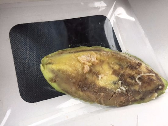 Amherst, OH: Rotting Avocado From Panera