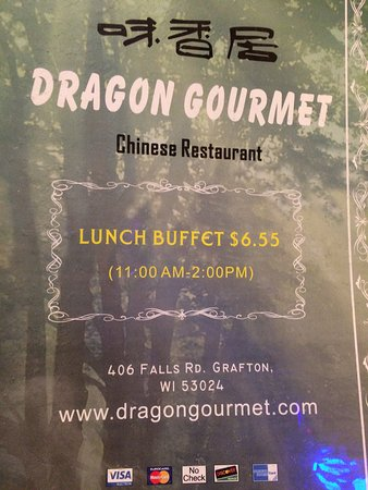 Grafton, WI: Dragon Gourmet