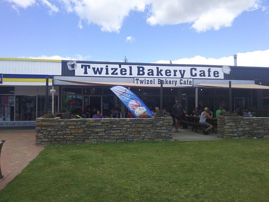 Twizel, New Zealand: 店の外観