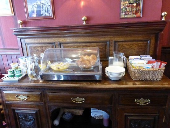 Kinlochleven, UK: Breakfast buffet