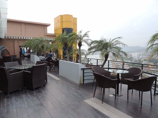 bars with outdoor seating Rooftop Bar, Outdoor Seating   Picture of Royal Lotus Hotel Halong  bars with outdoor seating