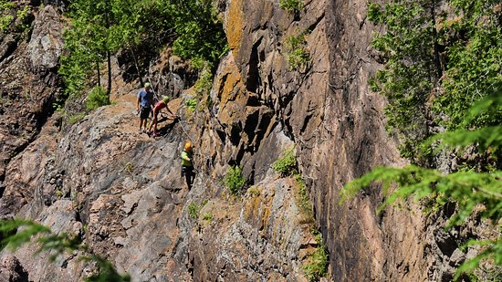 Fort Coulonge, Canada: Rock climbing activity