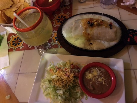 Hilliard, OH: Da wife's combo and Margarita (which she loved)