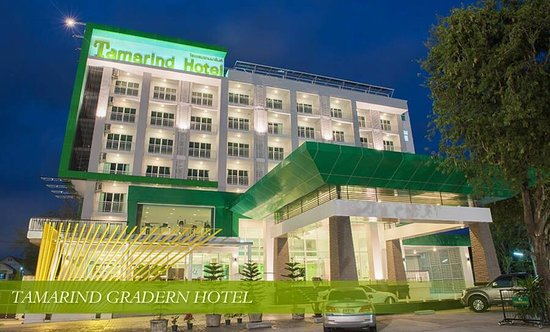 Tamarind Garden Hotel : Clean and modern hotel in the heart of Rayong