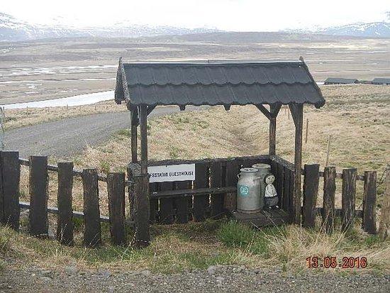 Saudarkrokur, Islandia: entrance