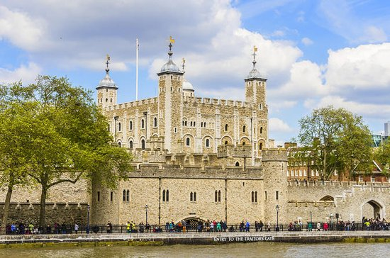 Inngangsbillett til Tower of London...
