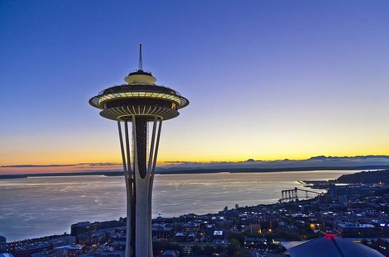 Seattle Space Needle Observation Deck...