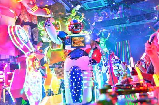 Spettacolo di Cabaret Robot a Tokyo con Cena di Manzo di Kobe al