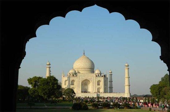 Tour de medio día a Agra de Taj Mahal...