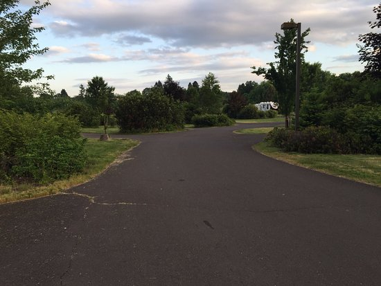 Ньюберг, Орегон: Layout view