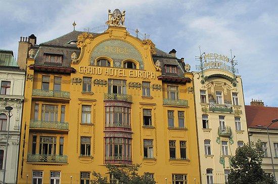 Prague Cubism and Art Nouveau Walking...