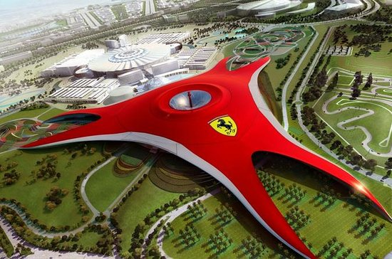 Explore Abu Dhabi City and Ferrari World