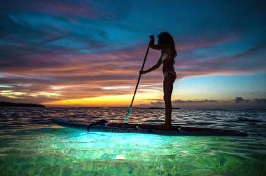 LED Paddleboard Sunset Glow Tour