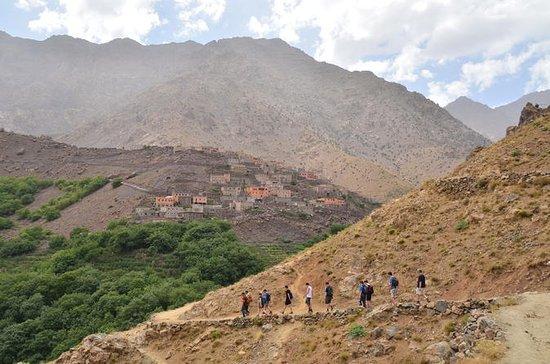 マラケシュからの3日間のアトラス山脈とベルベル村のトレッキング