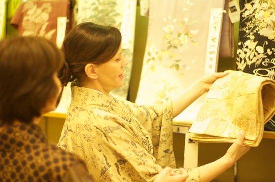 Kimono Shopping Tour in Tokio
