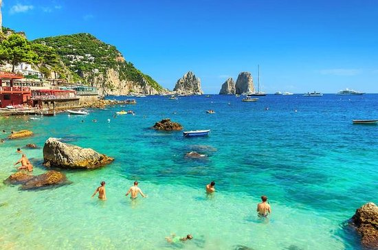 Capri and Blue Grotto Day Tour from Naples or Sorrento
