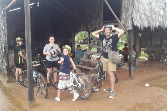 Private Siem Reap Countryside Cycling...