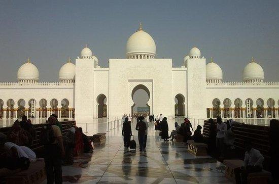 Abu Dhabi: privétour met auto en ...
