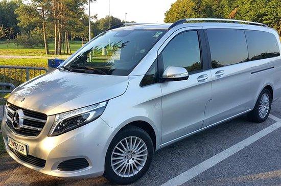 Arrival Private Car Transfer Ljubljana Airport to Ljubljana