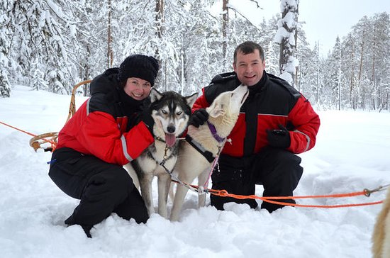4-Day Private Winter Husky Tour for...