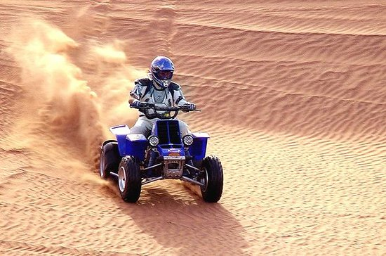 Dune Bashing with Quad Bike and Sand...